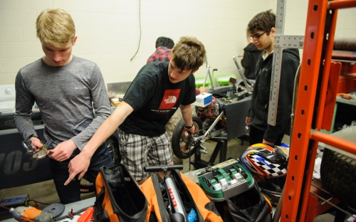 SJAM car club students - Andreas and Sam and Gunes