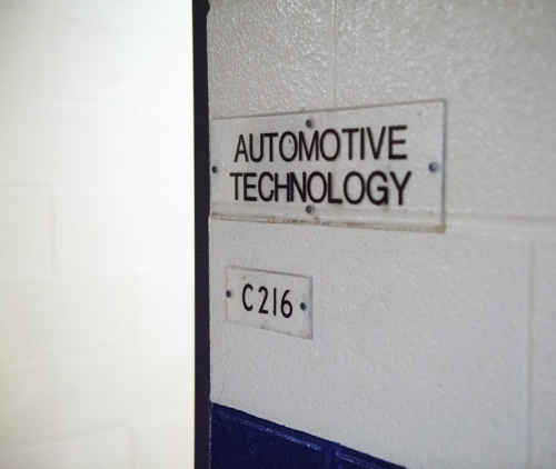 Automotive technology sign