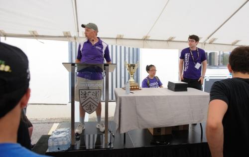Awards tent