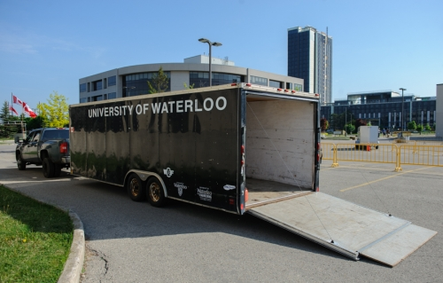 University of Waterloo trailer