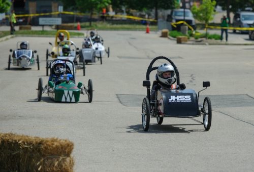 Cars at the Electric Vehicle Challenge