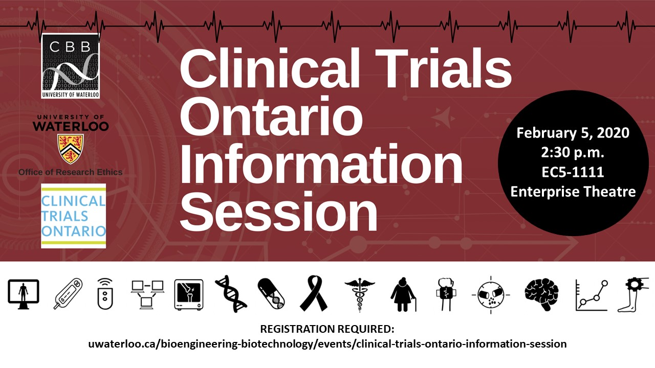 Clinical Trials Ontario Information Session