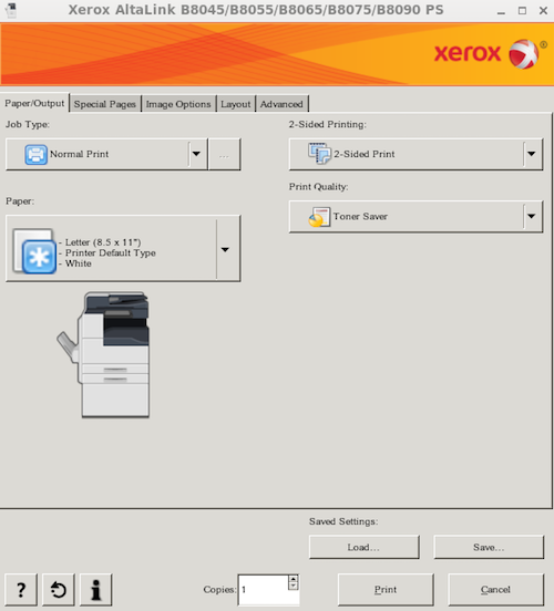 How to print to Xerox printers from Linux | Electrical and