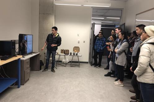 Jiayuan Presenting ECG projects