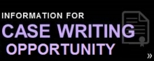 Case Writing Opportunity