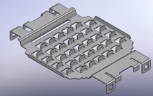 Flat Heat Sink and Horizontally Ribbed Heat Sink