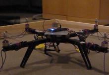 Quadrotor developed based on Lisa/L