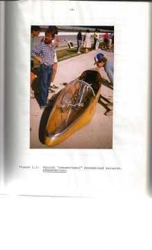 """""""Synchronicy"""" human-powered tricycle"""