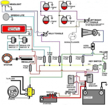 Simple Automotive Electrical System Schematic