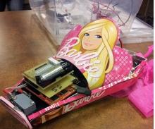 Barbie fuel cell car