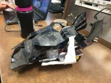 Batmobile fuel cell car