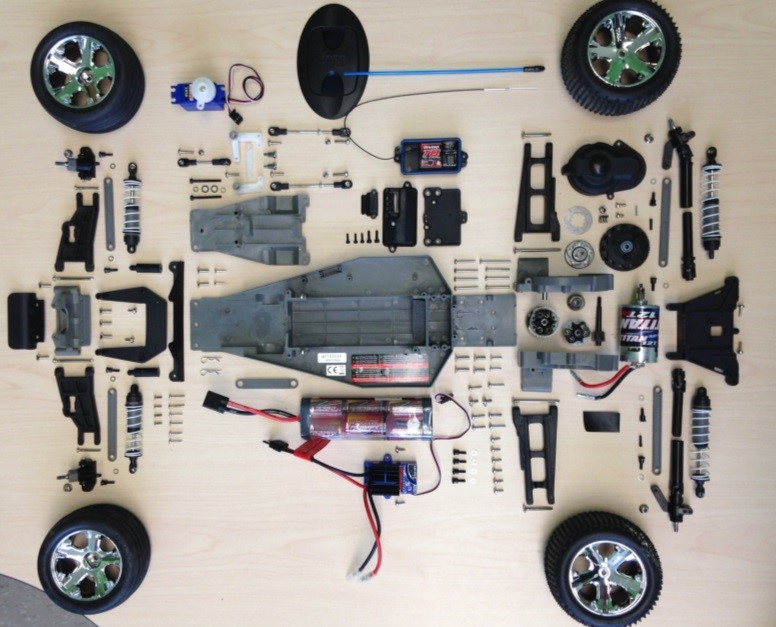 remote control car dissection