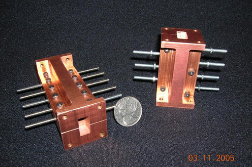 Copper RF (Radio frequency) filters