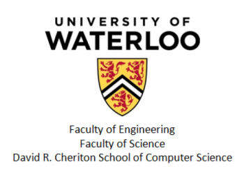 University of Waterloo logo-Faculty of Engineering, Faculty of Science, David R. Cheriton School of Computer Science