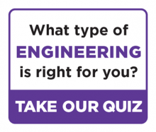 Engineering quiz button