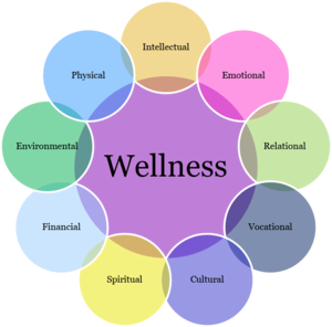 9 dimensions of wellness image