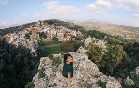 Waterloo Engineering student in Crete