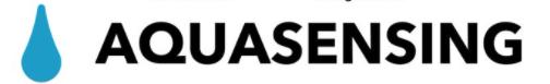 Logo for startup company AquaSensing.
