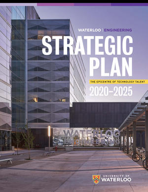 Cover of strategic plan 2020-2025