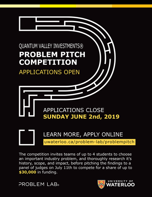 Problem Pitch poster