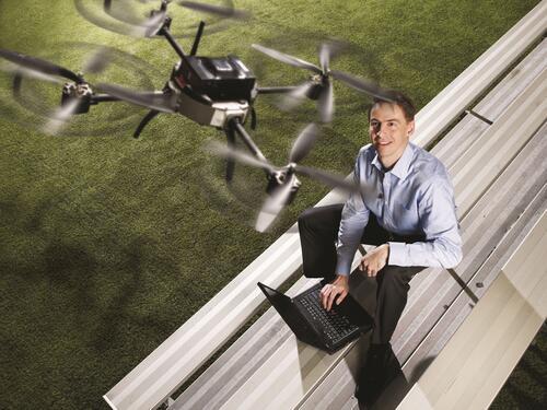 Steve Waslander, mechanical and mechatronics professor, UWaterloo