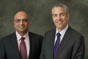 Frank Baylis and Kris Shah