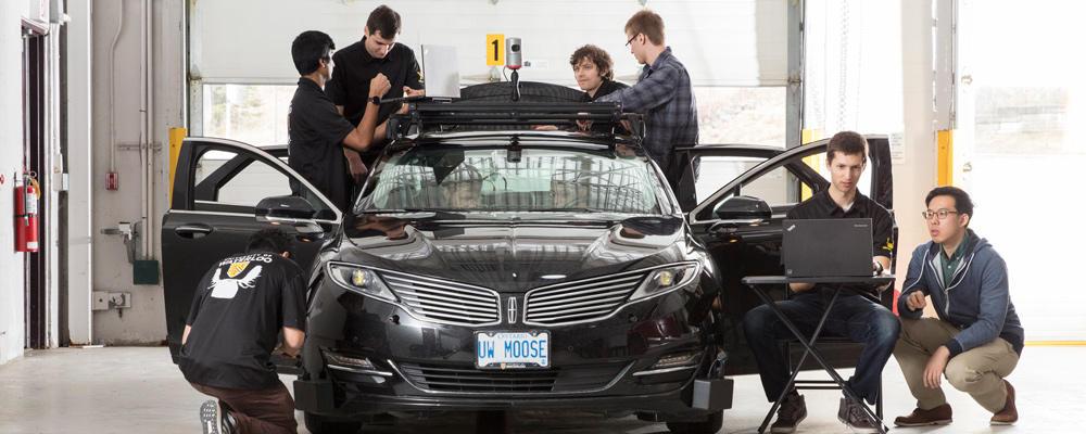 UW Moose the UWaterloo Engineering autonomous car