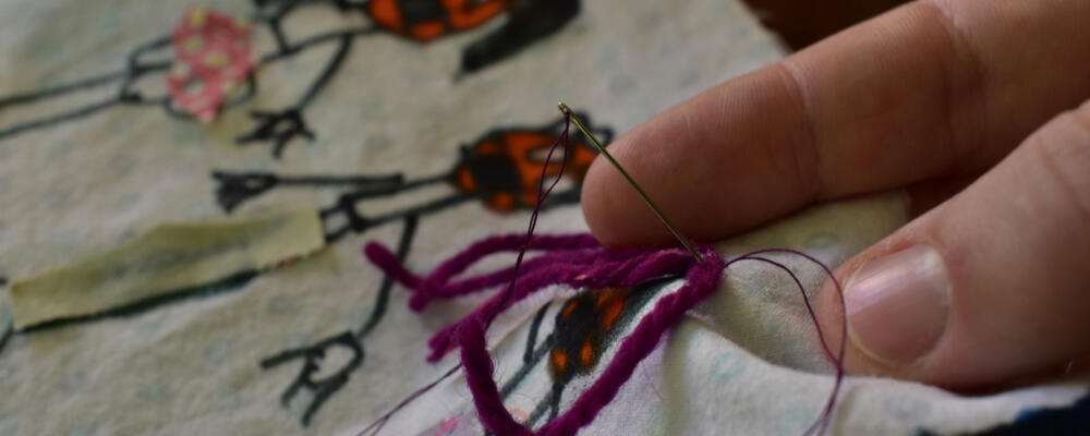 A stitch in time: preserving COVID memories