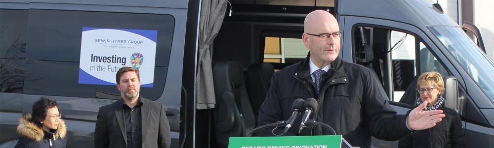 Steven Del Duca, the Minister of Transportation
