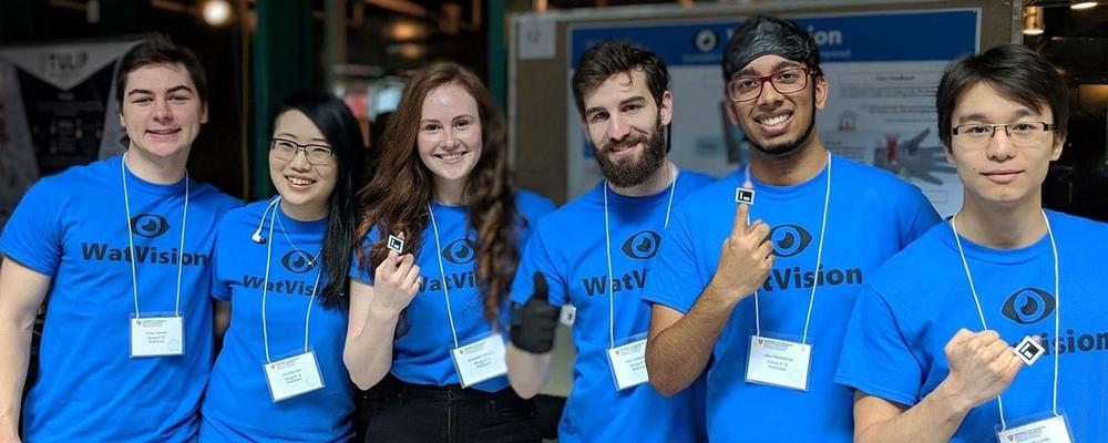 WatVision team members
