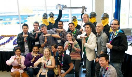 Group of Mechatronics alumni