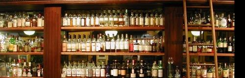 Whiskey bar at Buchanan's, Calgary
