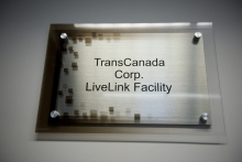 Transcanada Facility Plaque