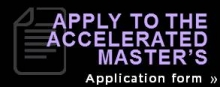 apply to the accelerated masters application form