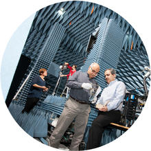 Anechoic chamber research