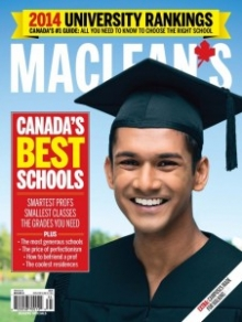 Maclean's annual rank of Canadian universities