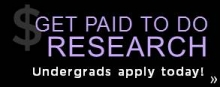 get paid to do research undergrads apply today