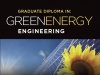 Graduate Diploma in Green Energy Engineering photo of sunflower and solar panels