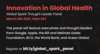 innovation in global health the promotional flyer