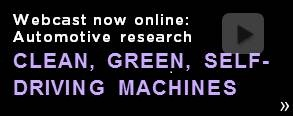 Automotive engineering research webcast