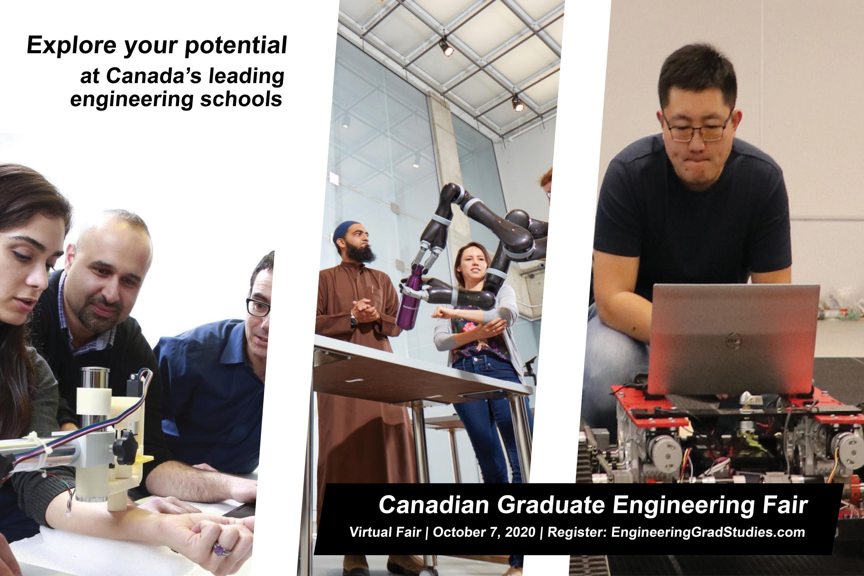 Canadian Engineering Graduate Studies Recruitment Event October 7