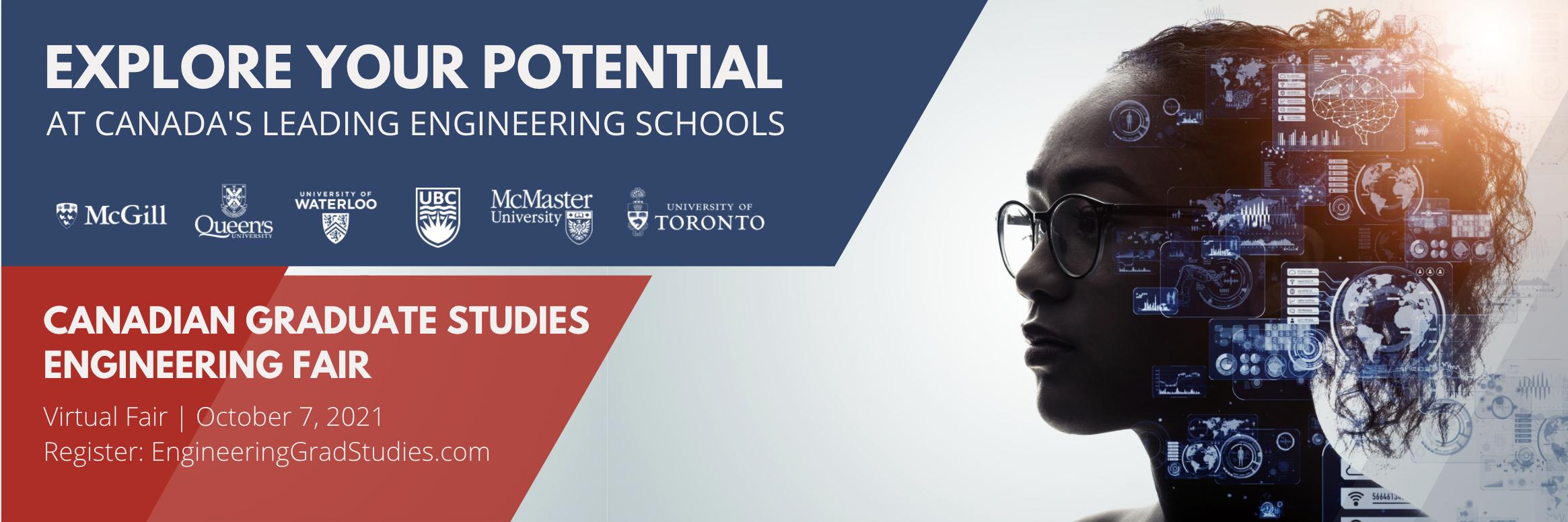 Canadian Graduate Studies Engineering Fair banner