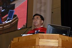 Professor Chunli Bai June 2017 Convocation Waterloo Engineering