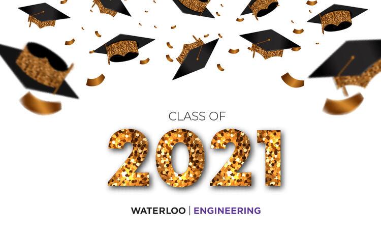 Waterloo Convocation 2021 Grad Hats