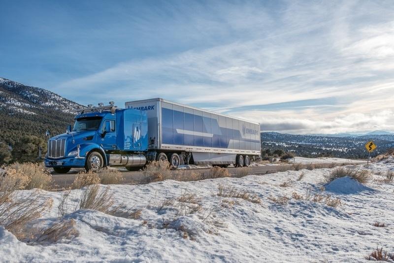 Embark self-driving truck.