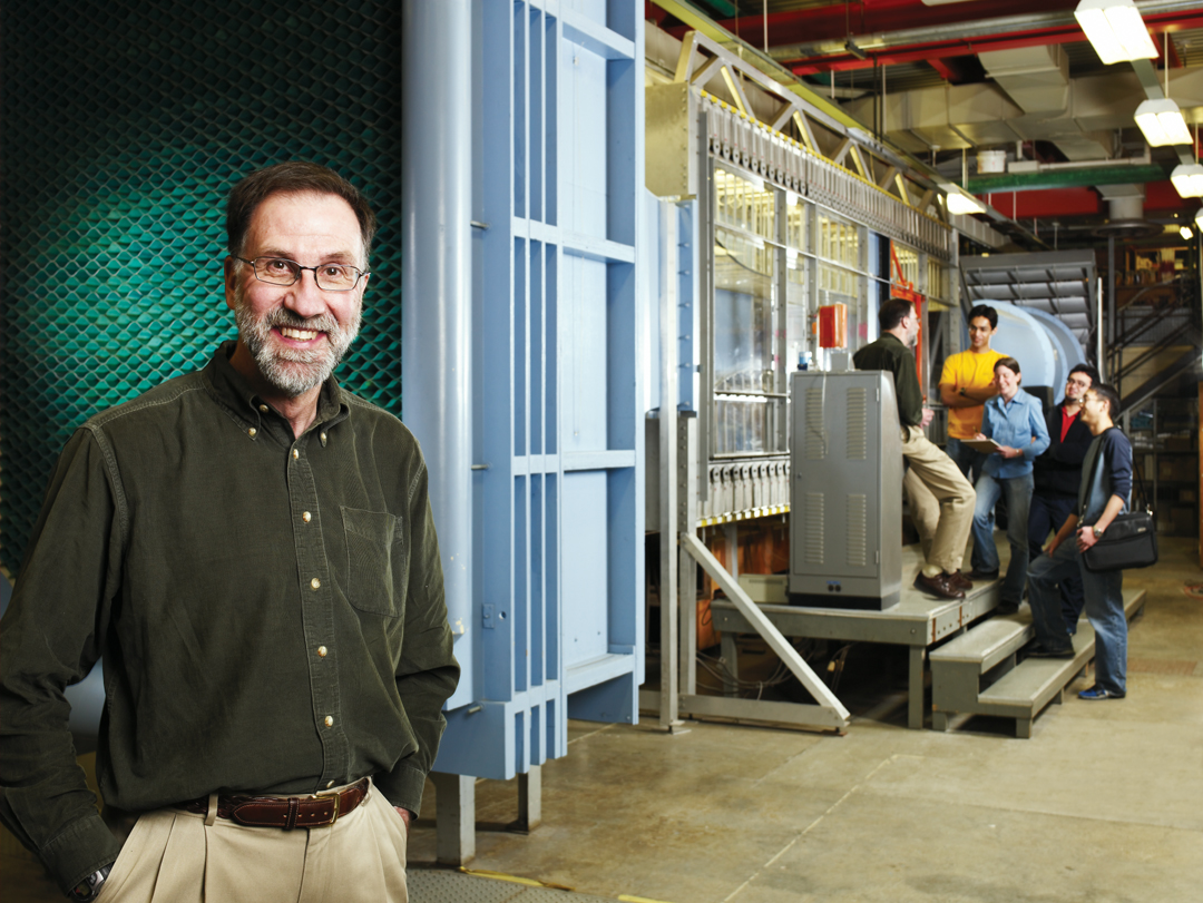 Gordon Stubley, mechanical engineering professor