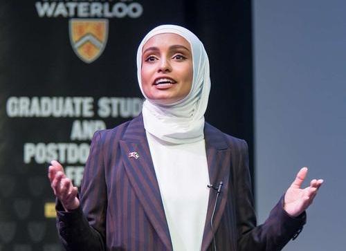 Haya Almutairi Waterloo Engineering 3MT finalist