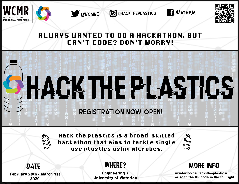 Hack the Plastics poster