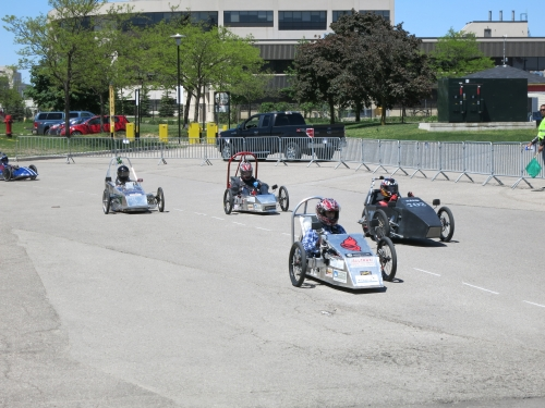 Cars at the 2013 EV Challenge