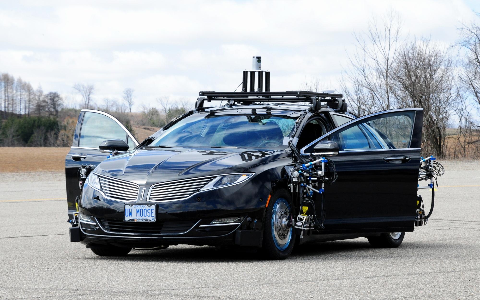 UW Moose autonomous vehicle